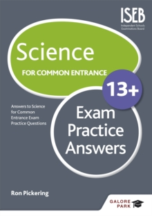 Science for Common Entrance 13+ Exam Practice Answers, Paperback