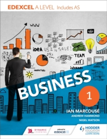 Edexcel Business A Level Year 1 : Including AS, Paperback
