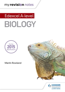 My Revision Notes: Edexcel A Level Biology B, Paperback Book