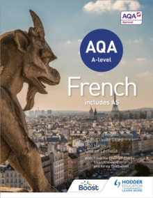 AQA A-Level French (Includes AS), Paperback