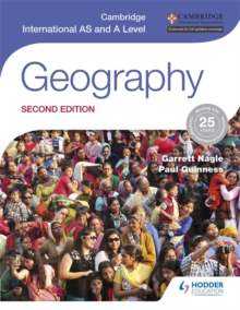 Cambridge International as and A Level Geography, Paperback Book