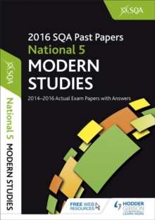 National 5 Modern Studies 2016-17 SQA Past Papers with Answers, Paperback Book