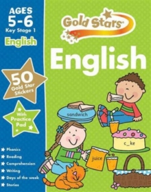 Gold Stars English Ages 5-6 Key Stage 1, Mixed media product Book