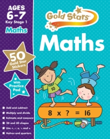 Gold Stars Maths Ages 6-7 Key Stage 1, Mixed media product