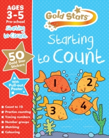 Gold Stars Starting to Count Ages 3-5 Pre-School, Mixed media product