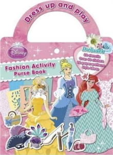 Disney Princess Fashion Activity Purse Book, Paperback