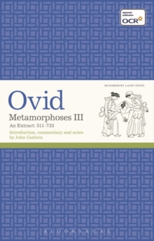 Metamorphoses III : An Extract: 511-733, Paperback