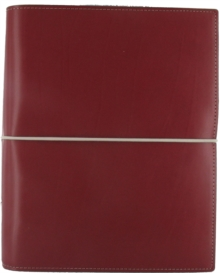 Filofax A5 Domino Red Organiser,