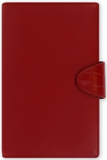 Filofax Calipso Compact Organiser Red,