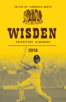 Wisden Cricketers' Almanack, Hardback Book