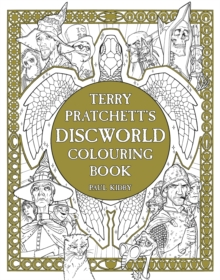 Terry Pratchett's Discworld Colouring Book, Paperback
