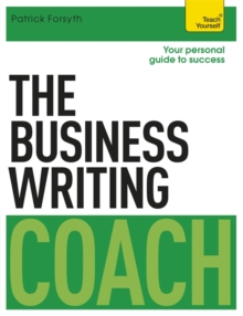 The Business Writing Coach: Teach Yourself, Paperback Book
