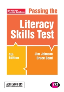 Passing the Literacy Skills Test, Paperback