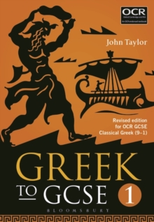 Greek to GCSE : For OCR GCSE Classical Greek (9-1) Part 1, Paperback Book