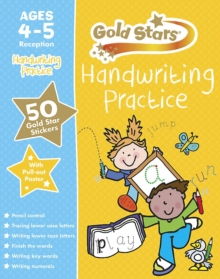 Gold Stars Handwriting Practice Ages 4-5 Reception, Mixed media product Book