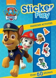 Nickelodeon Paw Patrol Sticker Play Pawsome Activities, Paperback Book