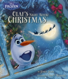 Disney Frozen: Olaf's Night Before Christmas, Paperback