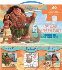 Disney Moana Ocean Adventure : Storybook and 2-in-1 Jigsaw Puzzle, Mixed media product