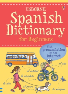 Spanish Dictionary for Beginners, Paperback Book