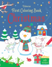 First Colouring Book Christmas, Paperback
