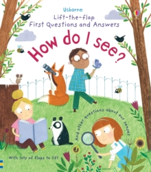 Lift-the-Flap First Questions & Answers How Do I See?, Board book
