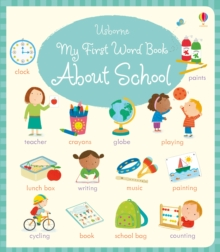 My First Word Book About School, Board book