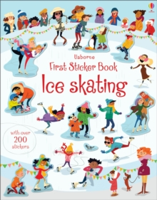 First Sticker Book Ice Skating, Paperback Book