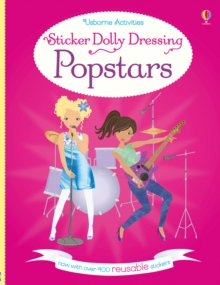 Sticker Dolly Dressing Popstars, Paperback
