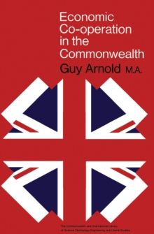 Image of Economic Co-Operation in the Commonwealth : The Commonwealth and International Library: Commonwealth Affairs Division