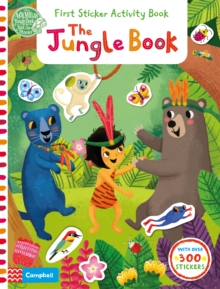 The Jungle Book: First Sticker Activity Book, Paperback Book