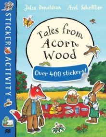 Tales from Acorn Wood Sticker Book, Paperback