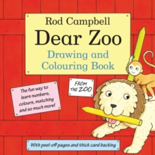 The Dear Zoo Drawing and Colouring Book, Paperback