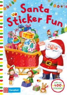 SANTA STICKER FUN, Paperback Book
