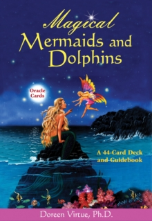 Magical Mermaids and Dolphins Oracle Cards, Cards Book