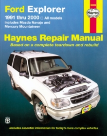 Ford Explorer, Mazda Navajo, Mercury Mountaineer (91 - 05), Paperback
