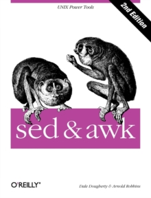 sed and awk, Paperback