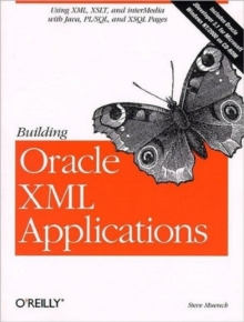 Building Oracle XML Applications, Mixed media product