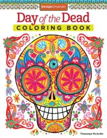 Day of the Dead Coloring Book, Paperback