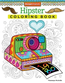 Hipster Coloring Book, Paperback Book