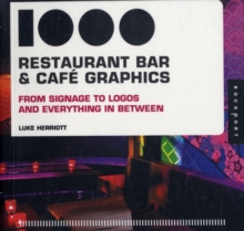 1000 Restaurant, Bar and Cafe Graphics, Paperback