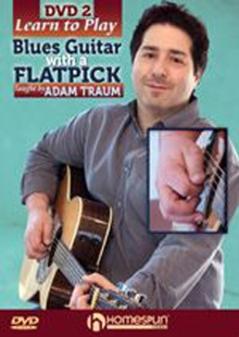 Learn to Play Blues Guitar With a Flatpick 2, DVD