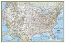 United States Classic, Poster Size, Tubed : Wall Maps U.S., Sheet map, rolled