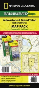 Yellowstone/Grand Teton National Parks, Map Pack Bundle : Trails Illustrated National Parks, Sheet map, folded Book