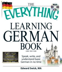 The Everything Learning German Book, Paperback