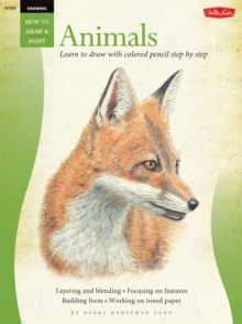 Animals in Colored Pencil / Drawing : Learn to Draw Step by Step, Paperback Book
