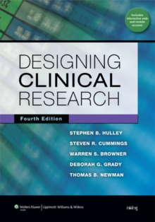 Designing Clinical Research, Paperback Book