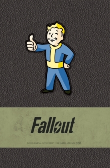 Fallout Hardcover Ruled Journal, Hardback Book