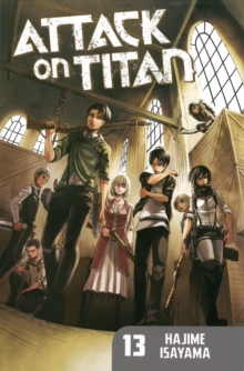 Attack on Titan 13, Paperback