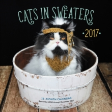 Cats in Sweaters 2017 : 16-Month Calendar September 2016 Through December 2017, Calendar Book