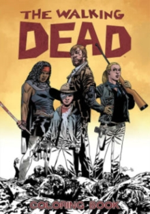 The Walking Dead Coloring Book, Paperback Book